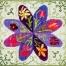 Der feine Faden Stickpackung – Blumenpracht