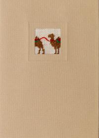Der feine Faden Grußkarte – Karawane