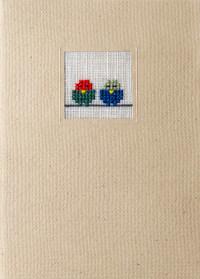 Der feine Faden Grußkarte – Spatzenpaar