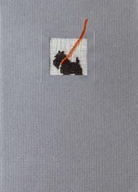 Der feine Faden Grußkarte – Terrier