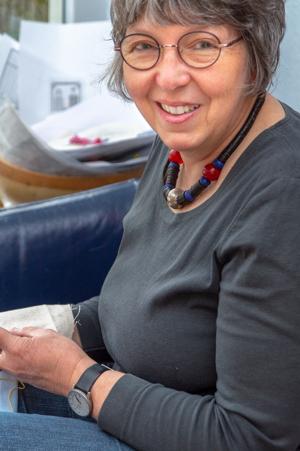 Porträt Regina Irlenborn, Inhaberin von Der feine Faden